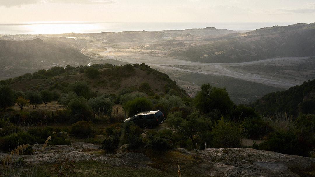 Tra le campagne dell'Aspromonte, dove si coltiva marijuana