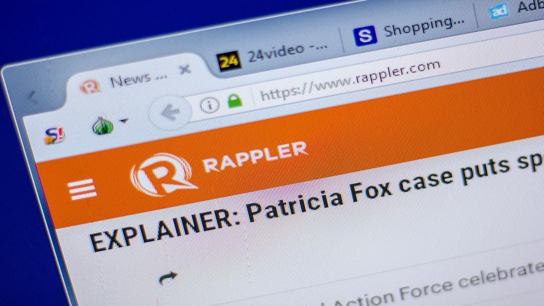 Le storie proibite di Rappler